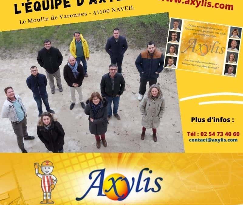 Notre filiale AXYLIS : une aide précieuse pour le groupe