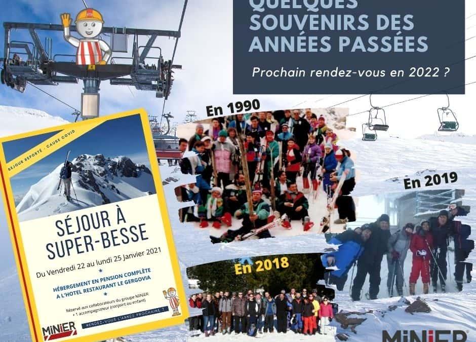 Séjour au ski reporté pour nos équipes