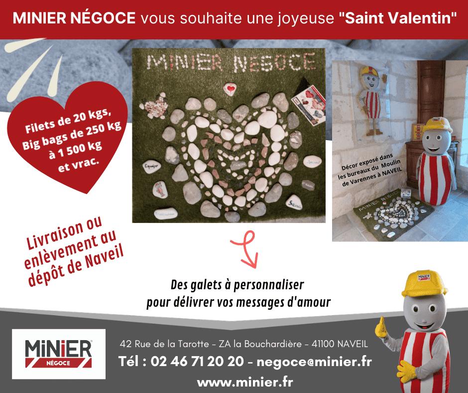 MINIER NEGOCE vous souhaite une Joyeuse St Valentin