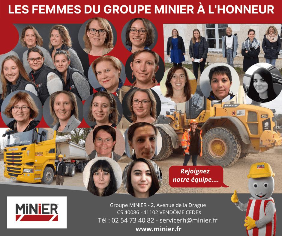 Les femmes du groupe MINIER à l'honneur
