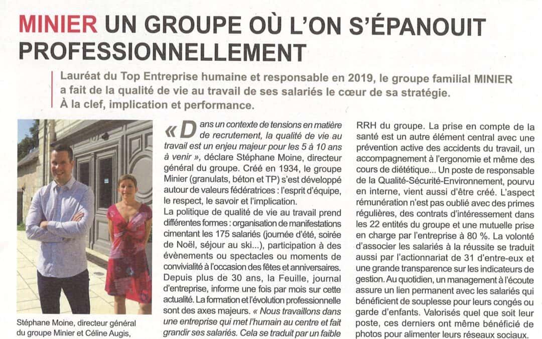 Article paru dans la revue CCI Economie du Loir-et-Cher