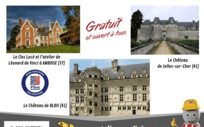 L'équipe de la SAS ATELIER MOULINIER vous invite à découvrir châteaux et églises